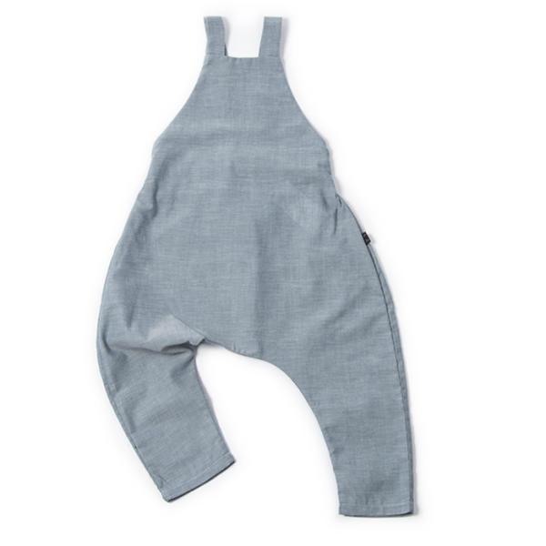 Monkind Baby Latzhose in Jeans-Look, versch. Größen