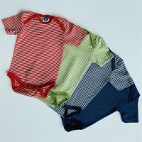 Cosilana Baby Body kurzarm 70% Wolle (kbT) 30% Seide, in...