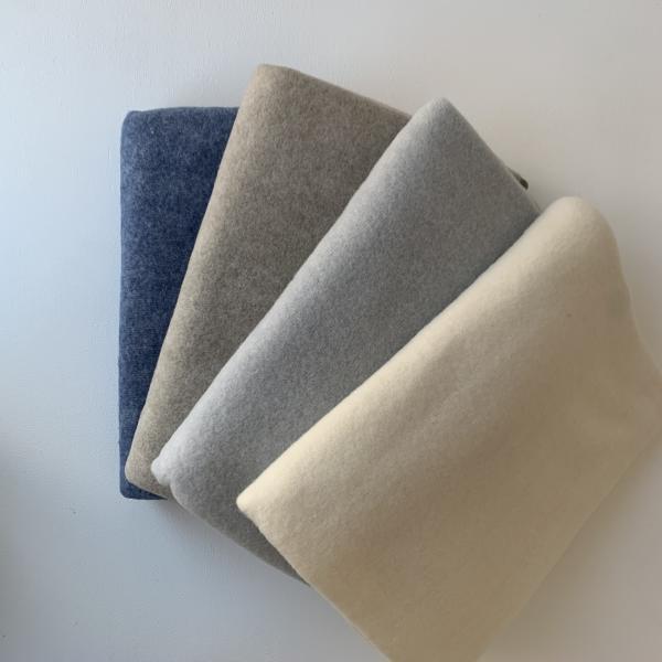Cosilana Baby-Decke aus Wollfleece, 80 x 100 cm in versch. Farben
