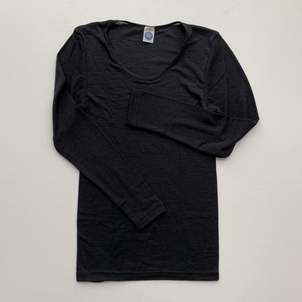 Cosilana Damen Unterhemd aus 70% Wolle und 30% Seide, langarm