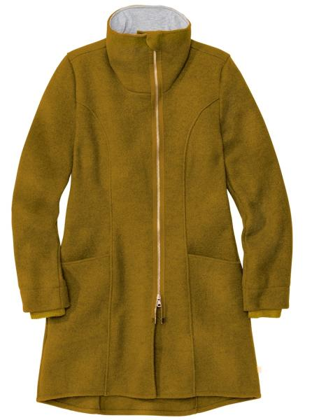 Disana Damen-Mantel aus Wollwalk aus 100% Schurwolle