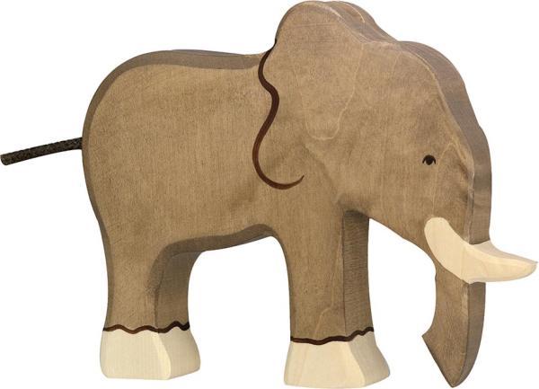 Holztiger Elefant