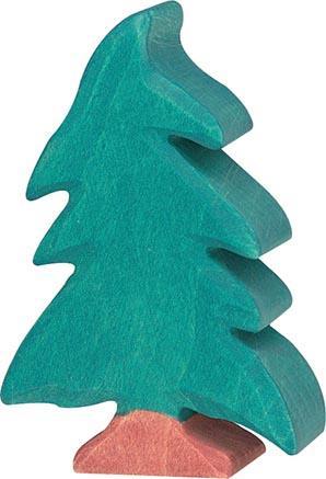 Holztiger Nadelbaum, klein