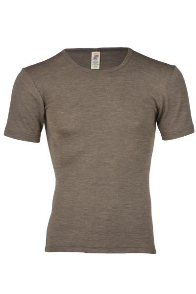 Engel Natur Herren Shirt aus Wolle/Seide