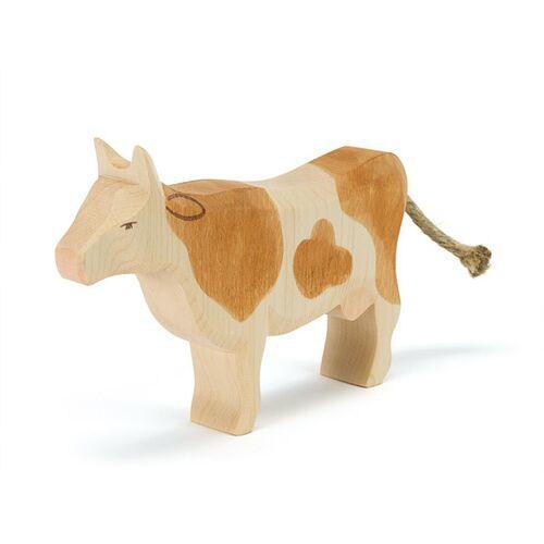 Ostheimer Kuh braun, stehend