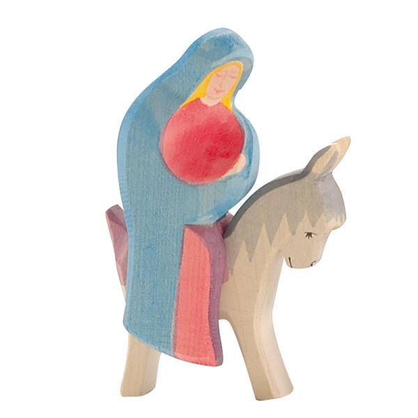 Ostheimer Maria auf dem Esel, 2 teilig