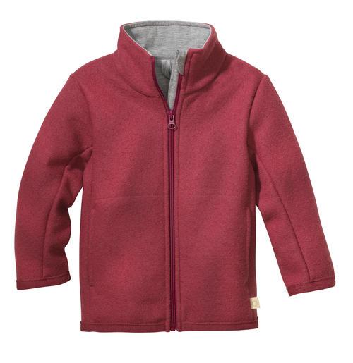 Disana Zipper-Jacke aus leichtem Wollwalk